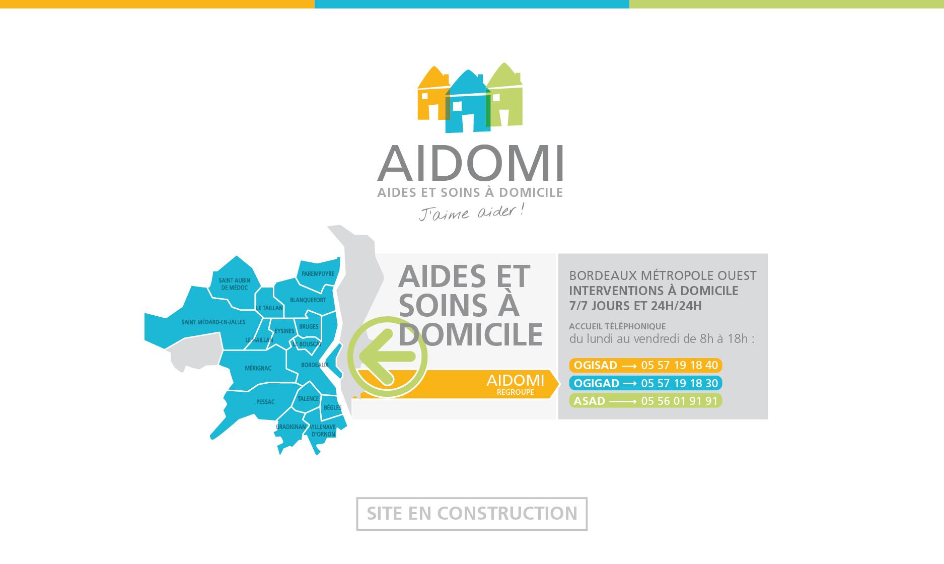 AIDOMI | Aides et soins à domicile - Bordeaux